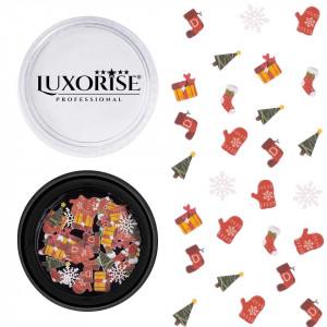 Decoratiune Unghii Christmas Delights #12, LUXORISE