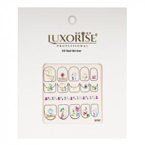 Folie Sticker 3D unghii LUXORISE- SP081