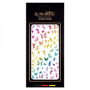 Folie Sticker Unghii Butterfly DP2014 - LUXORISE