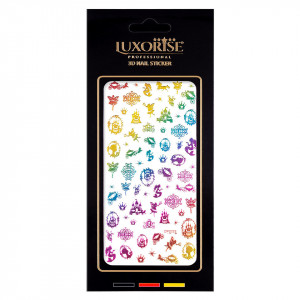 Folie Sticker Unghii Lovely DP2023 - LUXORISE