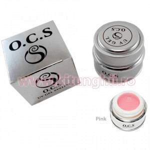 Gel UV OCS Large 28 gr Pink - Roz Transparent