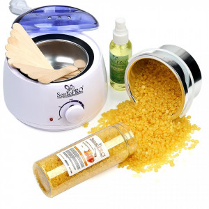 Kit Epilare Ceara Traditionala Granule SensoPRO Honey Crush