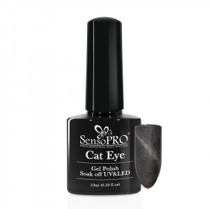 Oja Semipermanenta Cat Eye SensoPRO 10ml - #041 Intense Grey
