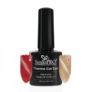 Oja Semipermanenta Thermo Cat Eye SensoPRO 10 ml, #18
