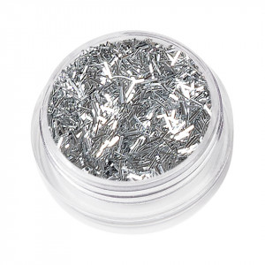 Sclipici Unghii Lung Nail Glitter Dance, Silver