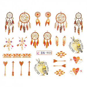 Tatuaj unghii LUXORISE, Dream Catcher BN-905