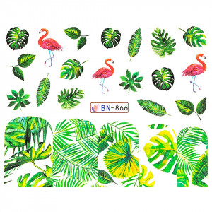 Tatuaj unghii LUXORISE, Flamingo BN-866