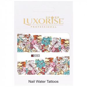 Tatuaj unghii LUXORISE, Nature A082