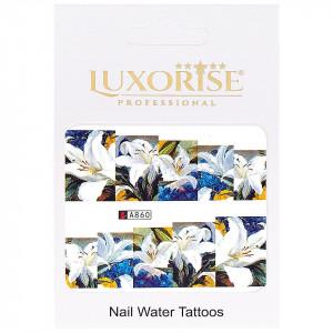 Tatuaj unghii LUXORISE, Nature A860