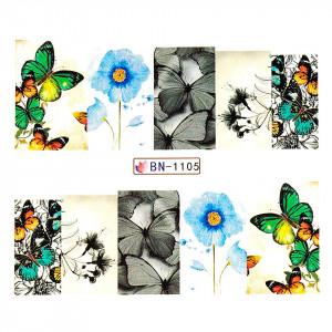 Tatuaj unghii LUXORISE, Nature BN-1105