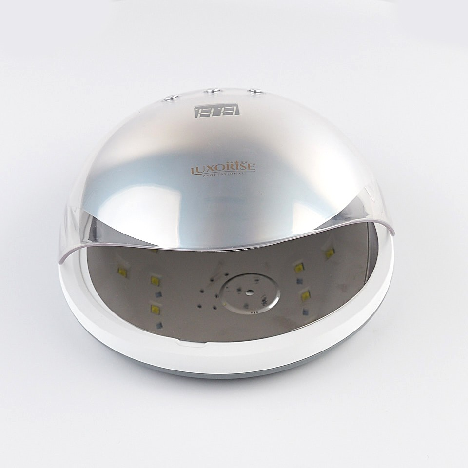 Poze Lampa unghii UV LED 36W Crystal PRO - LUXORISE Germania, Argintiu