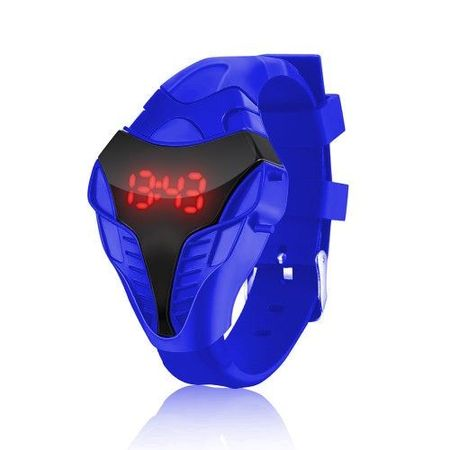 Часовник LED Alien L045-Син