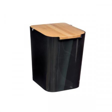 5 Л черен кош за боклук