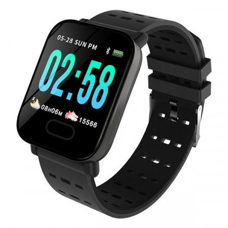 A6 Black - Smart Watch Sport Fitness Tracker