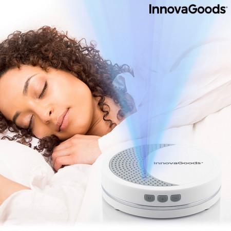 Aparat de relaxare cu lumină și sunet pentru somn Calmind InnovaGoods Wellness Care