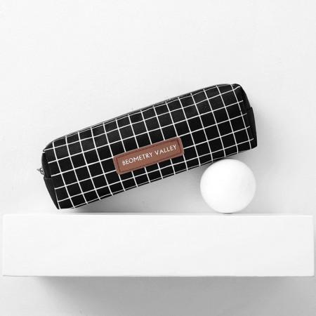 Козметична чанта, черна, BOR002-V1