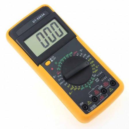 Multimetru digital profesional prevazut cu carcasa antisoc - DT9202A