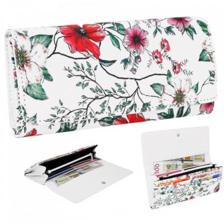 Portofel Dama, floral print, PMPS171FLORAL