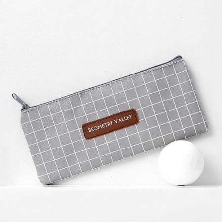 Козметична чанта , сива, BOR002-V2
