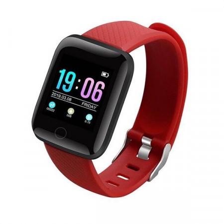 D13-RED - Smart Watch Sport Fitness Tracker