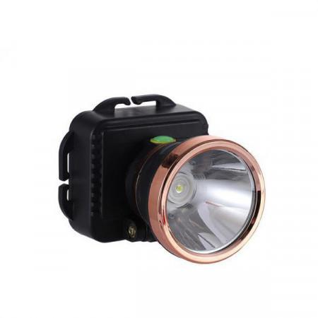 Lanterna frontala LED 3W, Reglare 90 grade, pe baterii 3xAAA, BK-1806