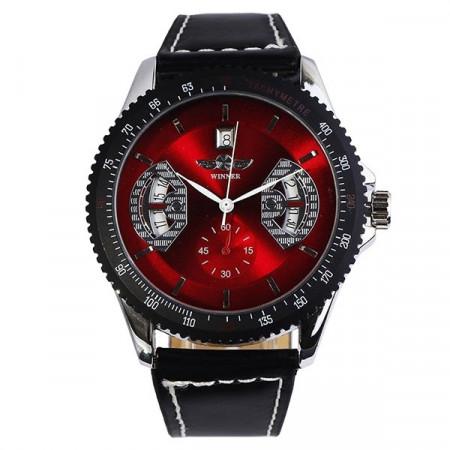 Напълно автъоматичен механичен часовник Winner Red P003