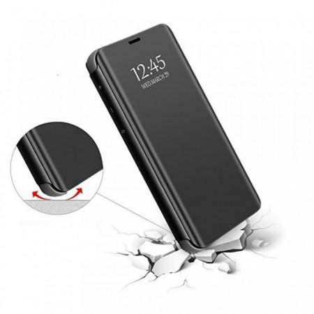 Samsung Galaxy S20 PLUS Book Cover Clear View - черен калъф