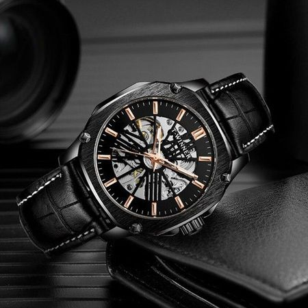 Мъжки часовник Skeleton Winner P338G-V3