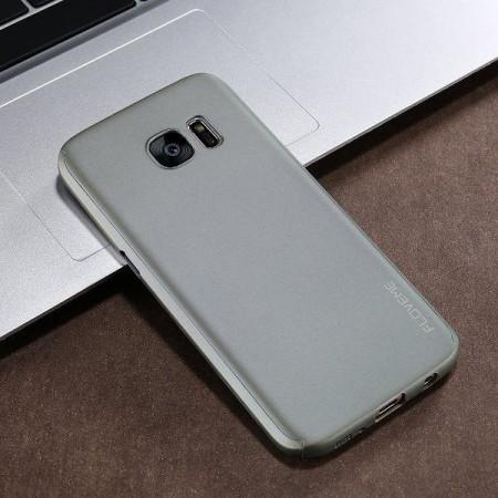 Samsung Galaxy S7 Edge - Калъф 360° Matte Premium Gray Ultra Slim - сив