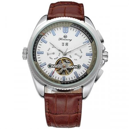 Автоматичен часовник Forsining cu Tourbillon FOR1087