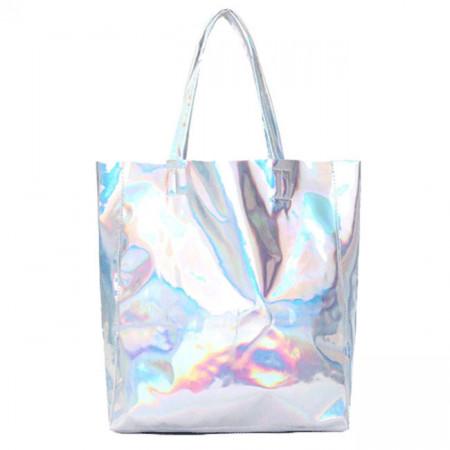 Чанта с холограмен ефект, L214