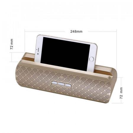 Boxa portabila BX-206, TF Card/AUX/USB, Radio FM, Bluetooth 4.0, 3 ore, Acumulator, 1200 mAh