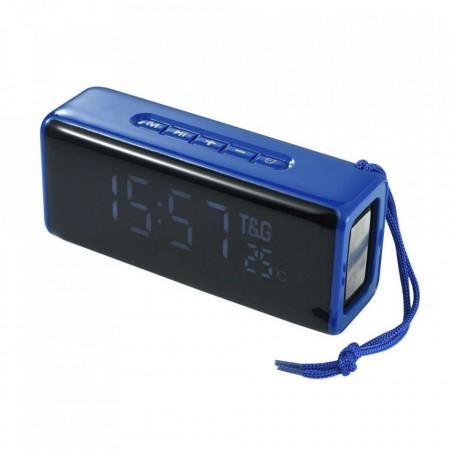 Boxa Portabila TG-174 cu Afisaj Digital,Ceas, Termometru, Radio, MP3, Bluetooth, USB, TF-Card PURPLE