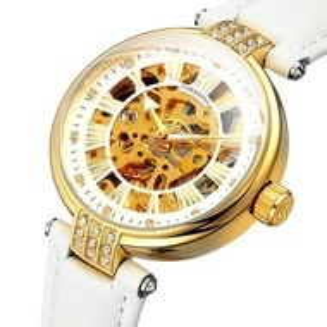Автоматичен дамски часовник Skeleton Forsining FOR9052-V1