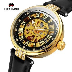 Автоматичен дамски часовник Skeleton Forsining FOR9052-V2
