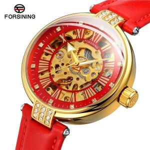 Автоматичен дамски часовник Skeleton Forsining FOR9052-V4