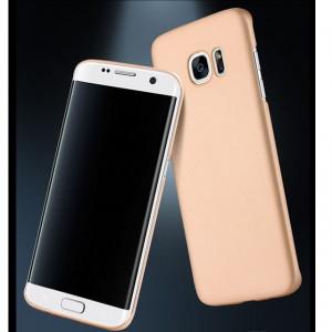 Златист калъф гръб  Policarbonat Premium за Samsung Galaxy S7 EDGE