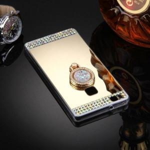 Калъф Mirror Luxury с пръстен Huawei P9 LITE.