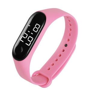 Часовник LED M009-Розов
