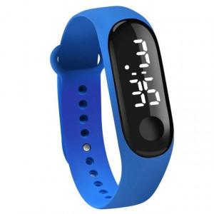 Часовник LED M009-Тъмно син