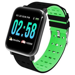 A6 Green - Smart Watch Sport Fitness Tracker