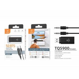 Receptor si transmitator audio Bluetooth, negru, PMTF540013