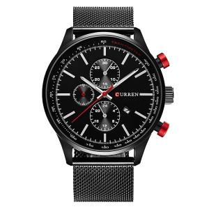 Мъжки часовник CR8227-Черен