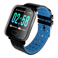 A6 Blue - Smart Watch Sport Fitness Tracker