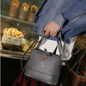 Дамска чанта, Arenaria, сива, L216