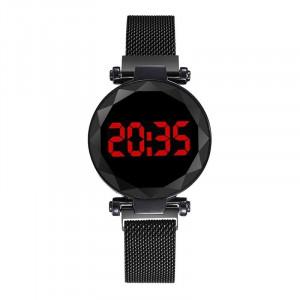 Дамски часовник Fashion Digital Led, Черен Q521-V3