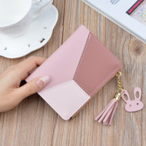 Дамско портмоне, PTL007-V2, розов цвят