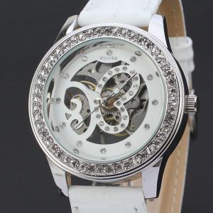 Механичен дамски часовник Winner D156-ALB