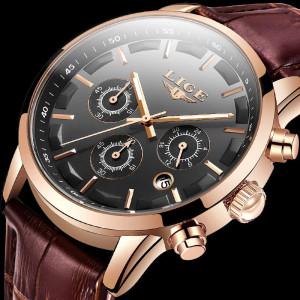 Мъжки часовник Lige, Cronograf Q9578-V1