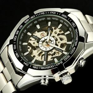 Напълно механичен часовник Winner P001
